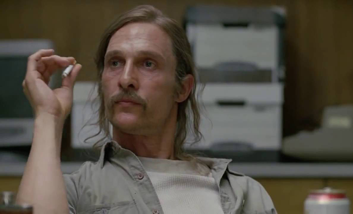 Picture of Rustin Cohle from True Detective