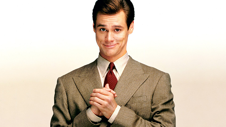 Picture of Jim Carrey from the movie Liar Liar